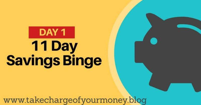Mega savings binge