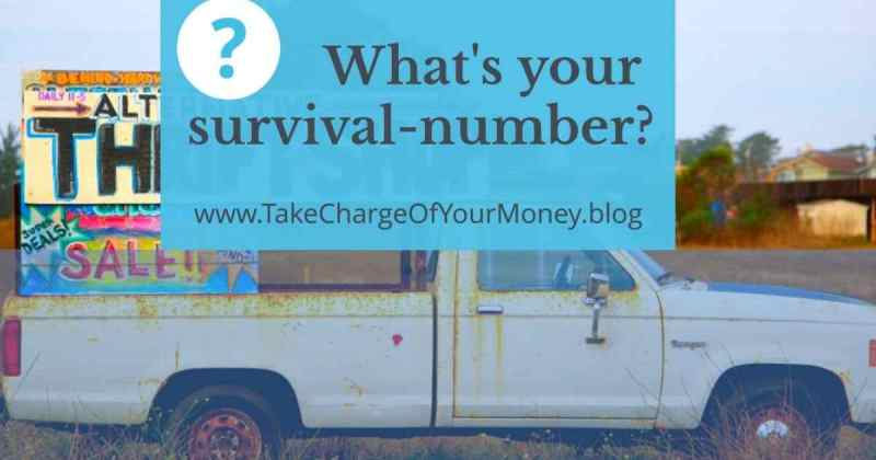 What's your survival number