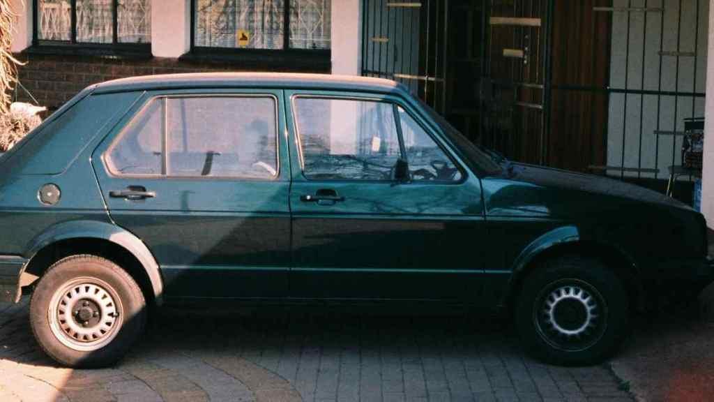 My first car - a VW Citi Golf