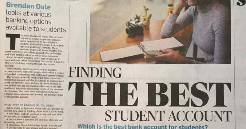 Best student account in South Africa