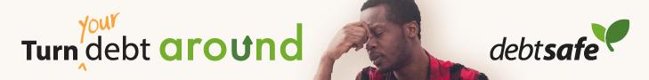 DebtSafe Banner Ad