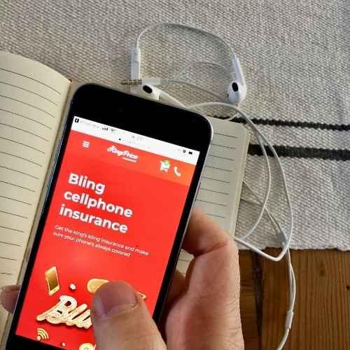 Bling cellphone insurance
