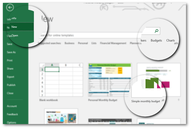 How to make a personal budget using Excel