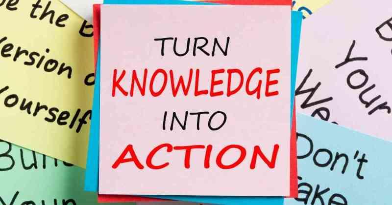 Knowledge vs Doing